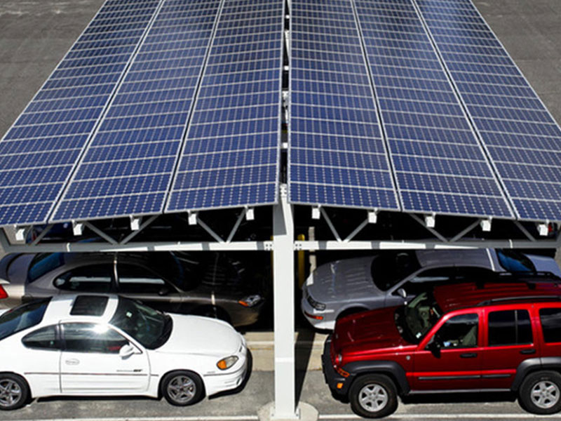 Easy Installation Solar Aluminum W type Carport Mounting system