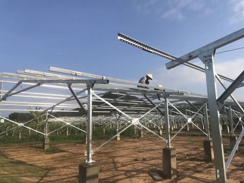 ground solar mounting solution