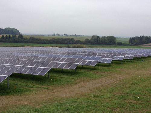 ground solar project