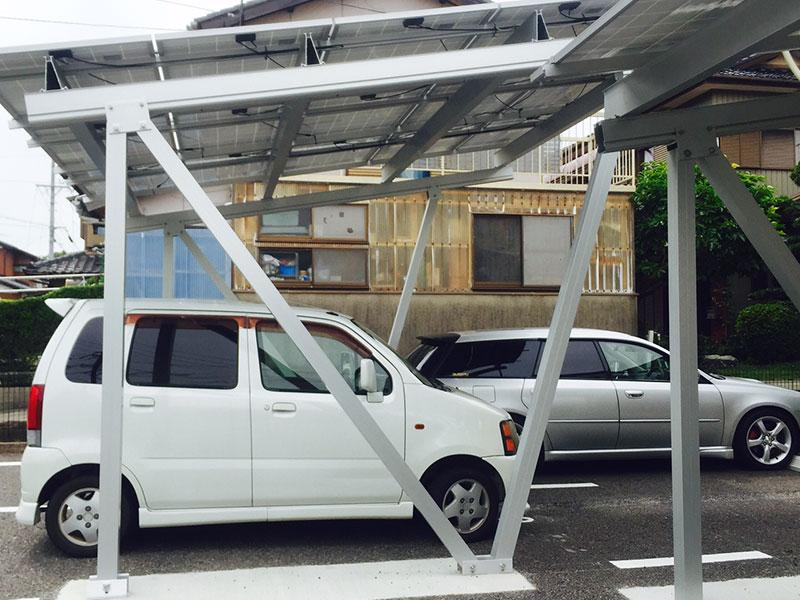 Aluminum Solar Ground Carport Mounting
